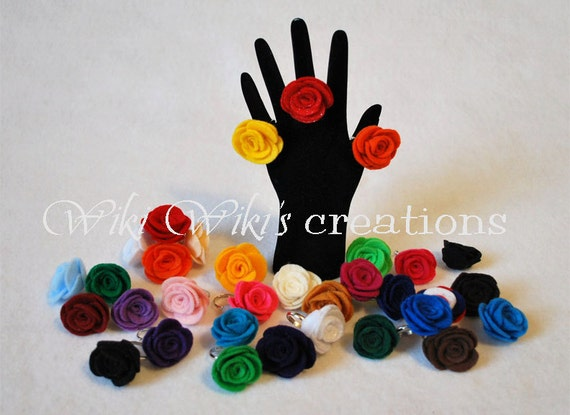 Rose Ring - Pick Your Color