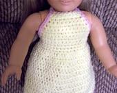 Pattern - American Girl - Crochet Dress PDF - Instant Download