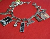 SALE 20% OFF - Twilight - Breaking Dawn Inspired Charm Bracelet and Necklace