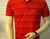 Le Tigre Polo Knit Shirt - Red Medium