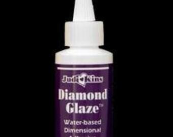Jewelry Glue Judi Kins Diamond Glaze 2oz (Glue for Photo Jewelry) and altered art - Scrabble tile adhesive Scrapbooking