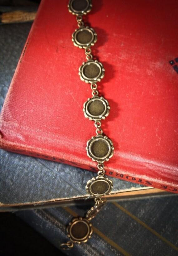Charm Bracelet Kit-for Family Photo Pendants, altered artwork, beads and more