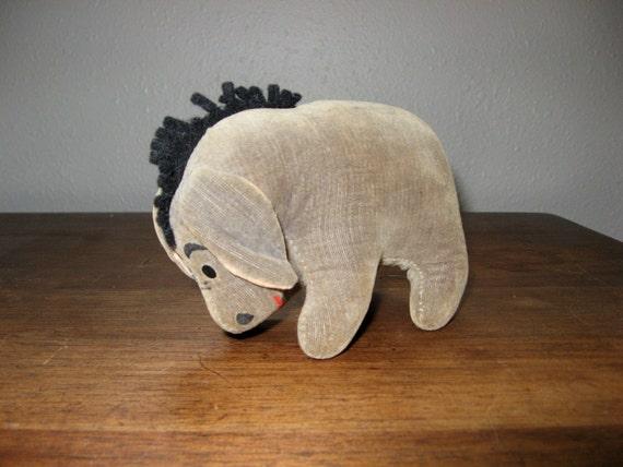 Vintage Eeyore Stuffed Toy