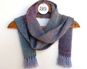 Scarf for Men or Women - Gray, Red, and Green