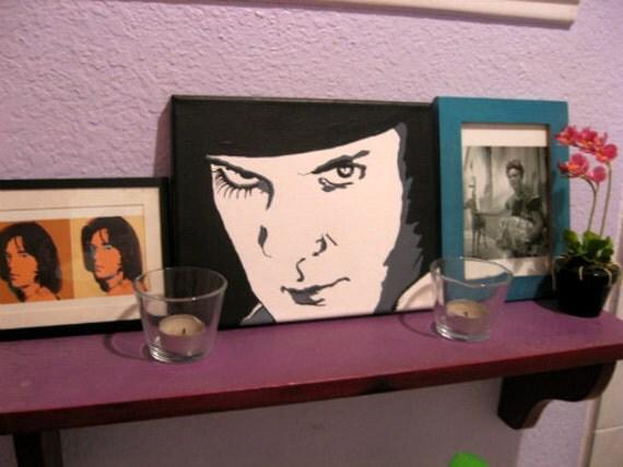 "A Clockwork Orange (Alex) Painting 8""x10"" canvas (ready to hang)"