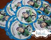 Personalized Buzz Lightyear Stickers