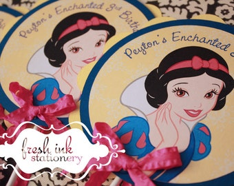 Snow White Centerpiece or Cake Top