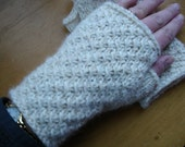 PDF Pattern Knitting Fingerless Texting Mitts My Sister's Gift