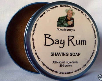 Doug Murray's BAY RUM Shaving Soap 250g (8.8oz) - About as good as it gets for a comfortable shave