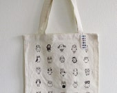 Ugly Owls Tote Bag