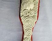 White Eagle Hairbrush