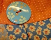 Quilted Buttercup Purse