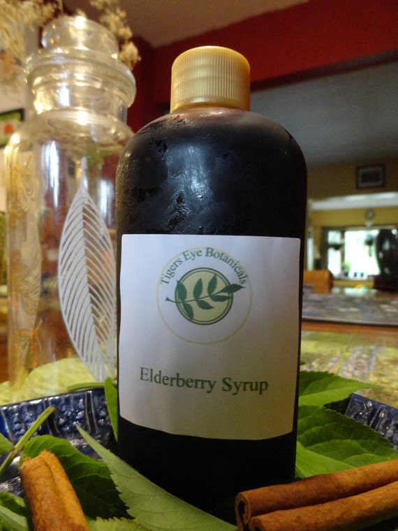 Elderberry Syrup (6 oz)