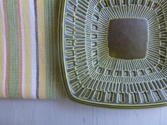 Vintage Swedish Upsala Ekeby bowl / Arena plate