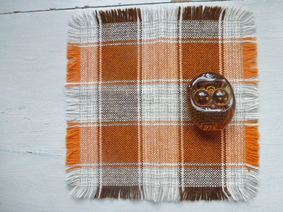 RESERVED / SOLD Vintage Swedish tablecloth/ Hand loomed wool