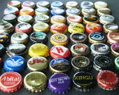 Used beer bottle caps lot of 100 large variety