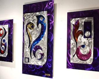 Metal Wall Art Painting Sculpture, Home Decor, Abstract Art, Design by Alex Kovacs - AK351