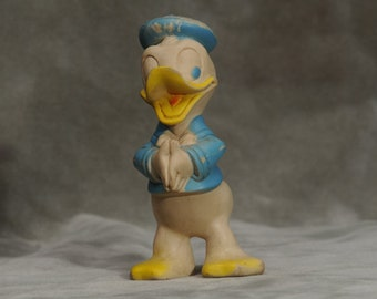 Rare Donald Duck Rubber Toy