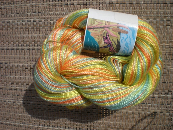 Hand Painted Tencel Yarn - for Lynne