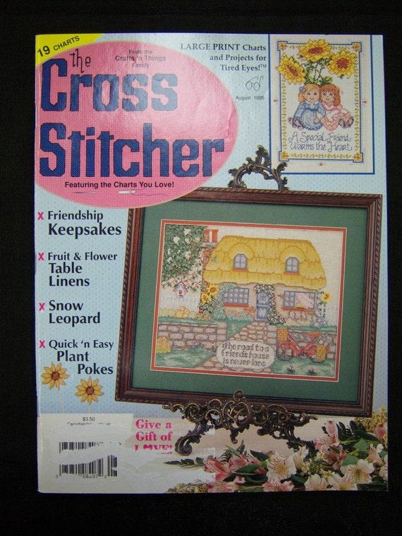 Cross Sticher Magazine...August 1995