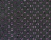 Fat Quarter, Purple Floral Fabric, Ashford House Fabric, Purple Flower Fabric, Green Fabric, Paintbrush Studio