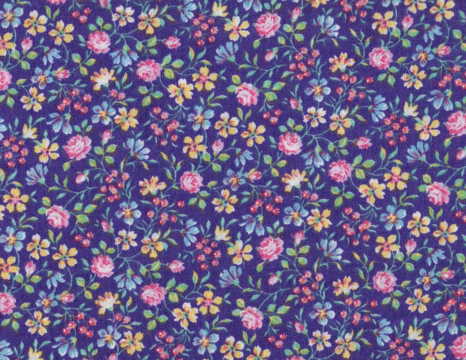 Unavailable listing on etsy for Purple baby fabric