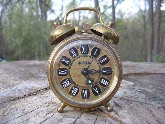 Vintage West German Trenkle Alarm Clock