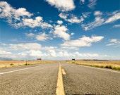 Desert Road Photograph, 8x10