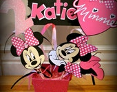 Small Minnie Mouse Party Center Piece