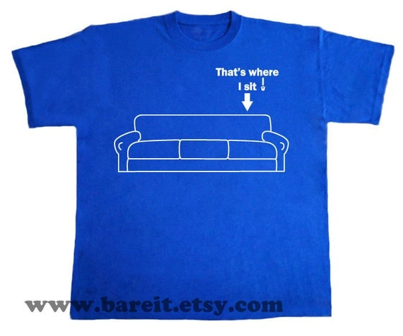That's Where I Sit Reserved Seat for Sheldon Cooper Inspired By The Big Bang Theory Geek Funny Humor TShirt Size Small Medium Large XLarge