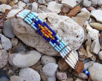 Tile Bead Choker Necklace