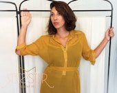 Office Fashion - Mustard  Dress