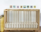 Nursery Wall Decals - Fabric Wall Decals Baby Icons