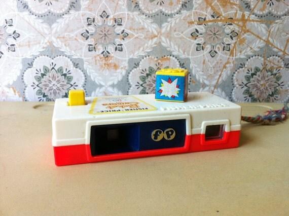 Vintage Fisher Price Toy Pocket Camera 464