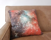 Galaxy Nebula Print Accent Pillow Cover Throw Pillow
