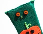 Halloween Phone Sock Pumpkin Monster Case