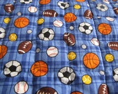 Custom Lined Weighted Blankets Size (Toddler/ Lap) 38x54 inches Wgt 2 to 6 pounds