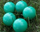 5 Teen/Adult Juggling Balls - Green