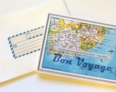 Bon Voyage Notecards