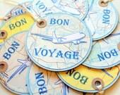 Bon Voyage Tags