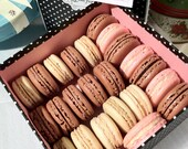 48 PC - Assorted Parisian Macarons (SF Bay Area delivery/pickup only)