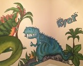 Custom Kids Room Artwork 12x12