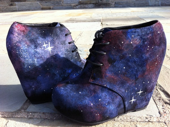 Reserved for emilymmackenzie: Space Shoes.