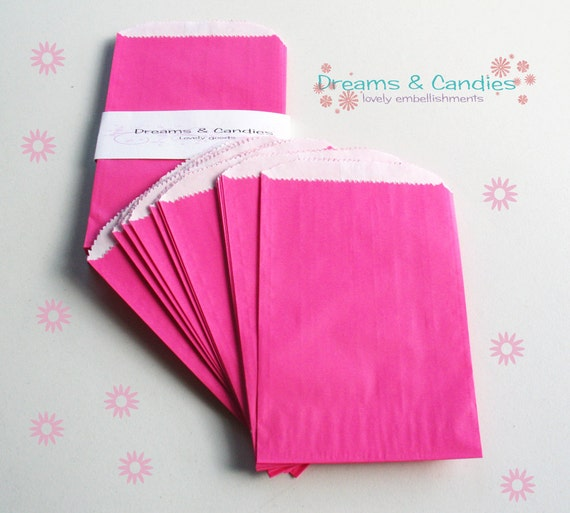 "50- 4 3/4x6 3/4""  Gourmet Bags Glassine Lined Paper for decorate, stamp, gift bags, envelopes, party favors, and many more"