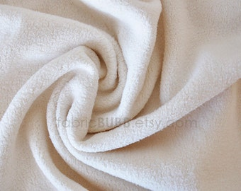 Organic Cotton Sherpa Fabric by Michael Miller Fabrics, One Yard, 1 Yard