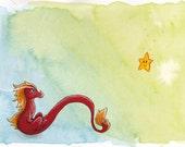 Star dragon Original Art