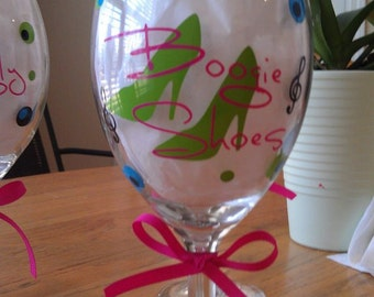 Personalized wine glasses - 2