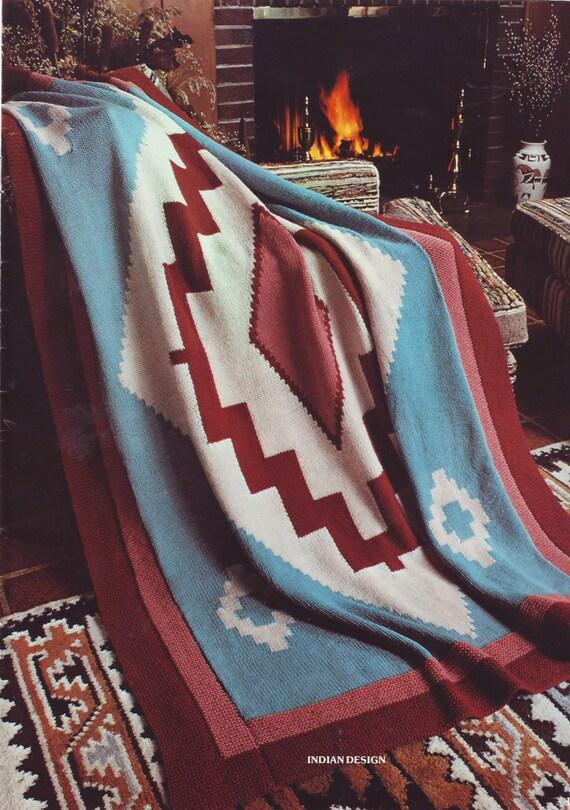 PDF Knit Pattern (pdf file)-  Native Navajo Design 201212
