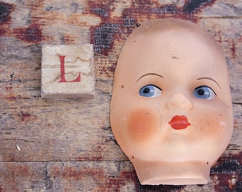 BAMBOLA.Vintage head doll