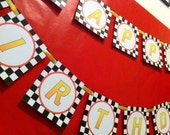 Cars 2 Personalized Birthday Banner - DIY Printable Party
